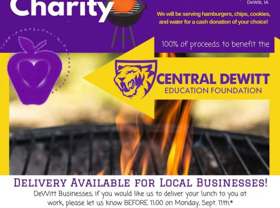 Grilling for Charity flyer