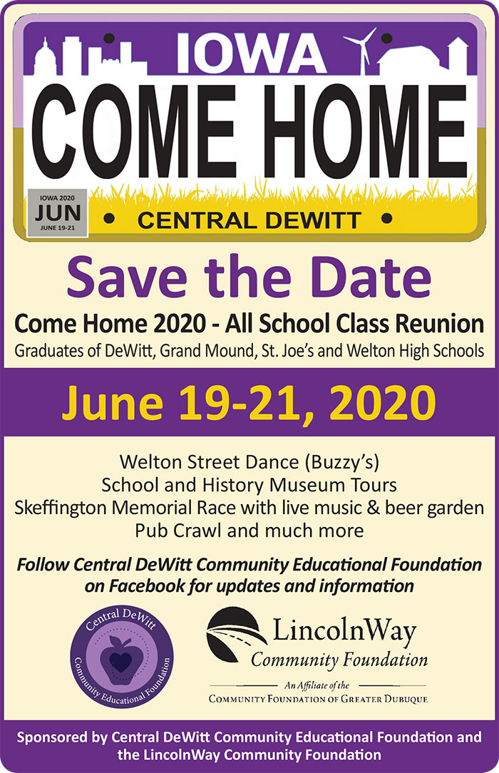 Come Home flyer